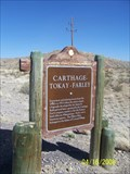 Image for Carthage, Tokay & Farley Historical Marker