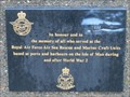 Image for RAF Air Sea Rescue and Marine Craft Units Memorial - Douglas, Isle of Man
