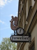 Image for Juwelier clock - Schwabach, Germany