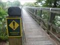 Image for Pedestrian Suspension Bridge over Waiau River - Fiordland, New Zealand