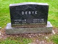 Image for 30852 Debye Asteroid and Grave of Peter J. W. Debye - Ithaca, NY