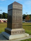 Image for 20th Wisconsin Infantry Monument - Vicksburg National Military Park