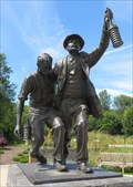 Image for The Rescue - National Miners Memorial - Sengennedd, Wales.