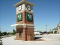 Image for RCB Bank Clock - Edmond, OK