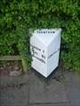 Image for Longton Road Milestone - Trentham, Stoke-on-Trent, Staffordshire.