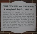 Image for First City Hall and Fire House