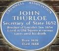 Image for John Thurloe - Chancery Lane, London, UK