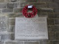 Image for World War Memorials - St George's Church, Langton Matravers, Isle of Purbeck, Dorset, UK