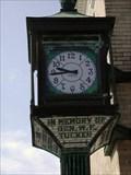 Image for Gen. W. F. Tucker clock - Okolona, MS.