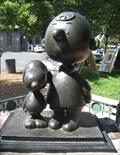 Image for Charlie Brown and Snoopy Bronze Statue - Santa Rosa, CA