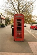 Image for Red Telephone Box - Dulwich Village, London, UK