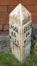 Image for Leeds Liverpool Canal milestone – Church, UK