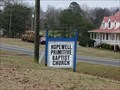 Image for Hopewell Primitive Baptist Church Cemetery - Taits Gap, AL