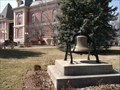 Image for Benton County Courthouse Lawn Bell - Fowler, IN
