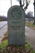 Image for Rotary Meeting Marker - Newberry, SC.