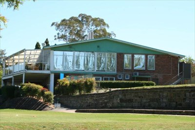 Massey Park Golf Club clubhouse.