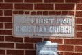 Image for 1968 - First Christian Church - Crowell, TX