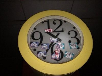 Clock in Dreilinden - Checkpoint Bravo - Berlin - Germany
