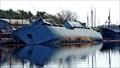 Image for Concerns over pollutants after former Navy ship topples...