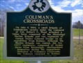 Image for Coleman's Crossroads