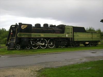 Ontario Northland Railway No 701 - Englehart, Ontario, Canada ...