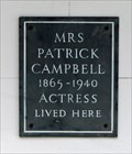 Image for Mrs Patrick Campbell - Kensington Square, London, UK