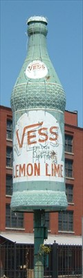 Image for Vess Soda Bottle - St. Louis, Missouri