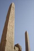 Image for Obelisk van Thoetmoses I  - Karnak