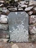 Image for B4418 Milestone - Llyn y Dywarchen, Gwynedd, Wales