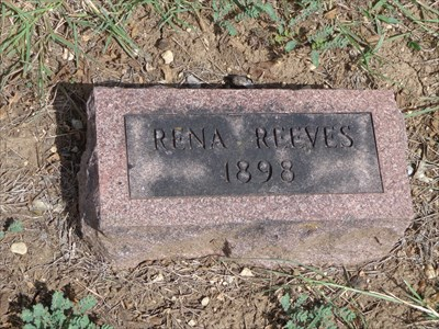 Obviously, a newer marker for an older grave.