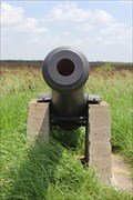 Image for US Army iron 6 pounder cannon -- US 281, Cameron Co. TX