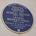 Image for Walter Gropius, Marcel Breuer, László Moholy-Nagy - Hampstead, London, UK