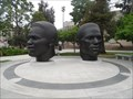 Image for Bronze Busts Unveiled in Tribute to Robinson Brothers  -  Pasadena, CA