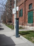 Image for Solar Powered Parking Meter - Mill Street - Toronto, Ontario, Canada