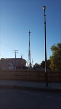 Image for KT1815 - 'WILLOWS PAC TEL CO MICRO MAST' - Willows, CA