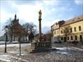 Image for Barokní mariánský sloup / Baroque Marian Column, Rícany, Czech republic