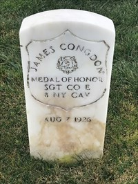 James Congdon, Front, San Francisco National Cemetery