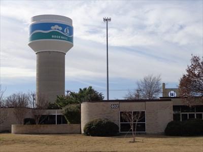 Southside Elevated Storage Tank   Rockwall, TX   Water Towers On  Waymarking.com