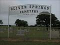 Image for Oliver Springs Cemetery - De Leon, TX