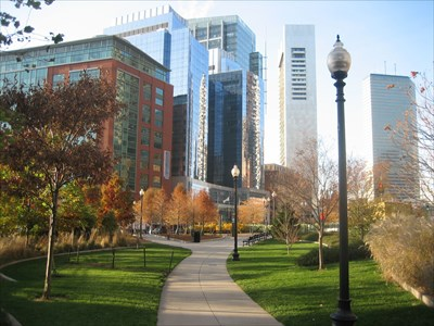 Fort Point Channel Parks Rose Fitzgerald Kennedy Greenway Boston