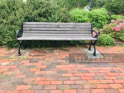 The engraved metal plaque reads: <br><br>  In loving memory of <br> Lila A. Fagnant <br> 1976 - 1998