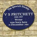 Image for V S Pritchett - St Nicholas Street - Ipswich, Suffolk