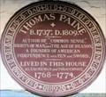 Image for Thomas Paine - Bull Lane, Lewes, UK