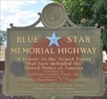 Image for Coso Safety Roadside Rest Area Blue Star Memorial ~ Inyo County, California