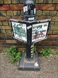 Image for Worcester and Birmingham Canal Milepost - Five Ways, Birmingham, UK