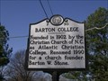 Image for Barton College  -  F-30