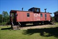 Image for CN Caboose CN79334  - Glaslyn, SK, Canada