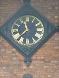 Image for Clock, Holy Trinity, Tewkesbury, Gloucestershire, England