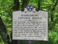 Image for Harrisburg Covered Bridge - 1C55 - Sevierville, TN