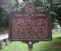Image for Oakland Academy - GHM 061-2 -  Gilmer Co., GA